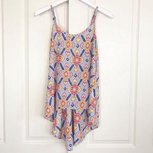 Stitch Fix Collective Concepts Boho Ikat Tank